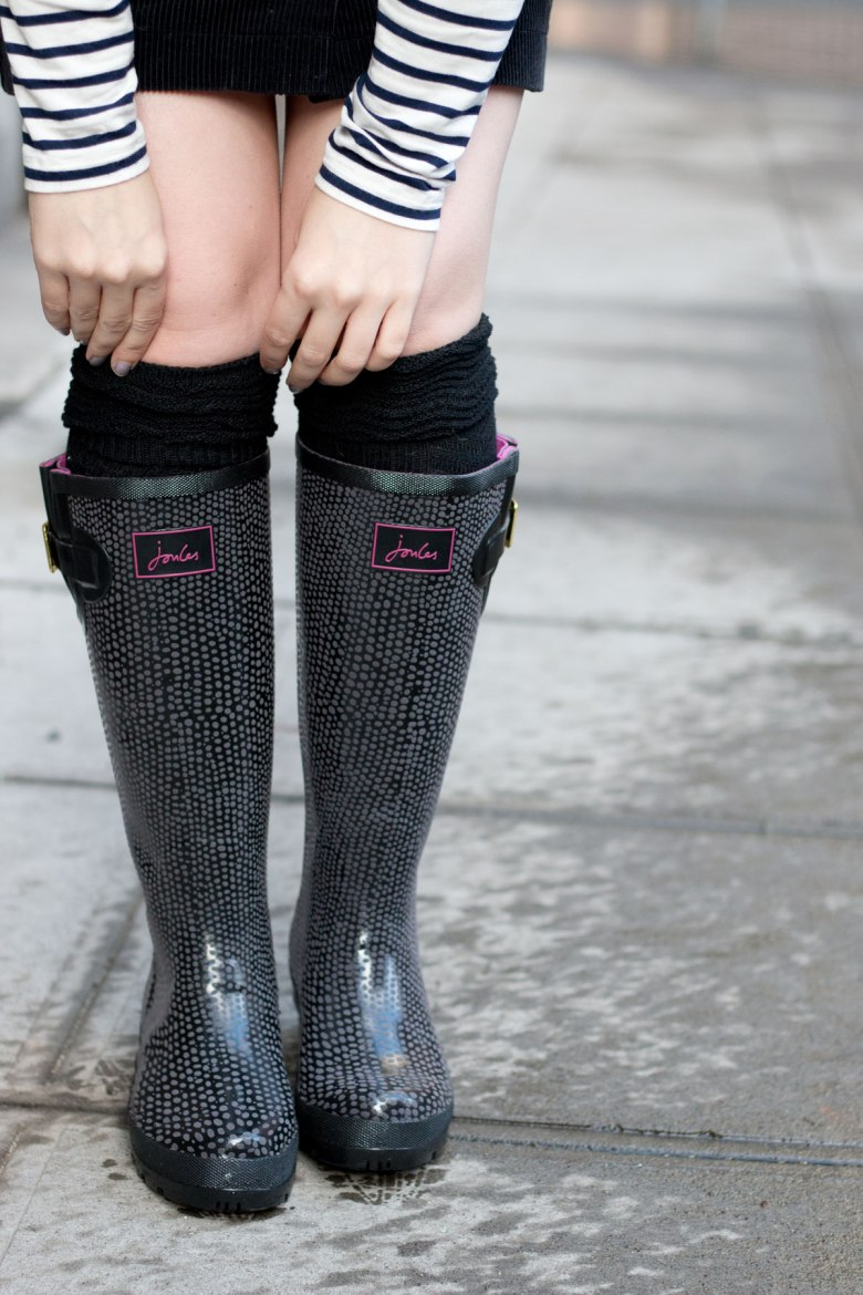 joules-wellies-london-rain-boots-outfit