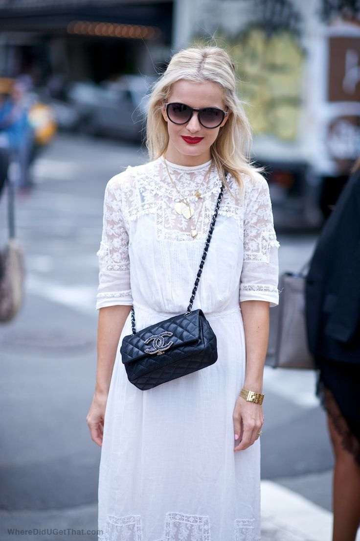 elle-strauss-white-lace-boho-dress-maxi-dress-gold-layered-necklaces-gold-cuff-black-chanel-quilted-bag-via-wheredidugetthat.com_
