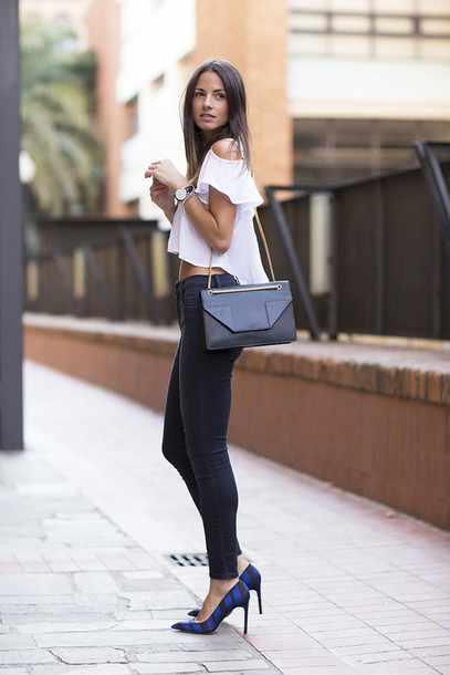 r0ahqo-l-610x610-fashion+vibe-blogger-bag-shoes--jeans-high+heels-summer+outfits-yves+saint+laurent-zara-white-sexy-white-shirt-blouse-crop+tops-casual-outfit-asymmetric+shirt