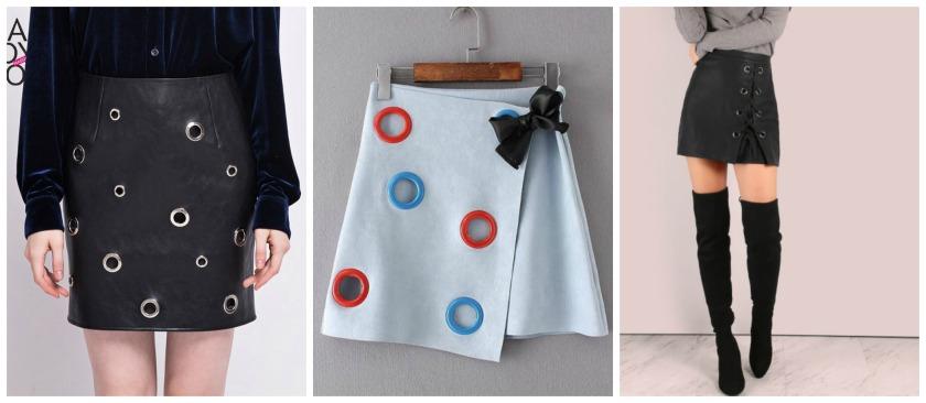 faldas con aros