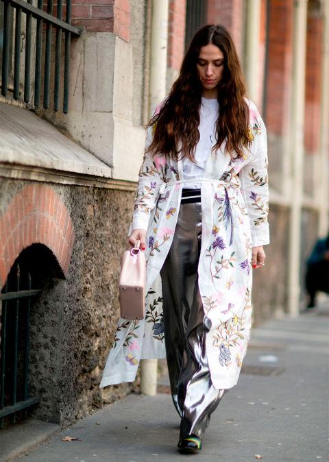 kimono con cinto